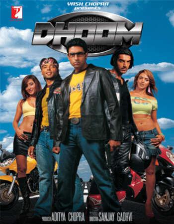 Dhoom 2004 Full Hindi Movie 720p HEVC BRRip Free Download