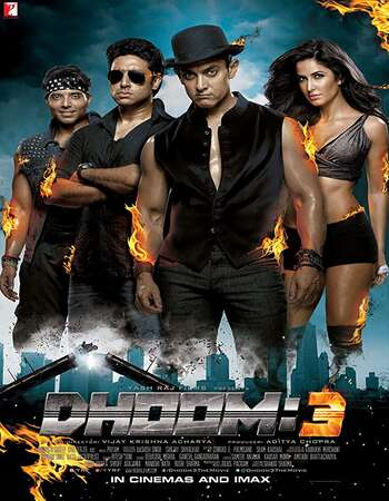 Dhoom 3 2013 Full Hindi Movie 720p HEVC BRRip Free Download