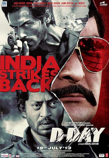 D-Day 2013 Hindi 480p BluRay 400MB