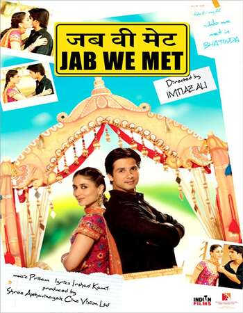 Jab We Met 2007 Full Hindi Movie 720p HEVC BRRip Free Download