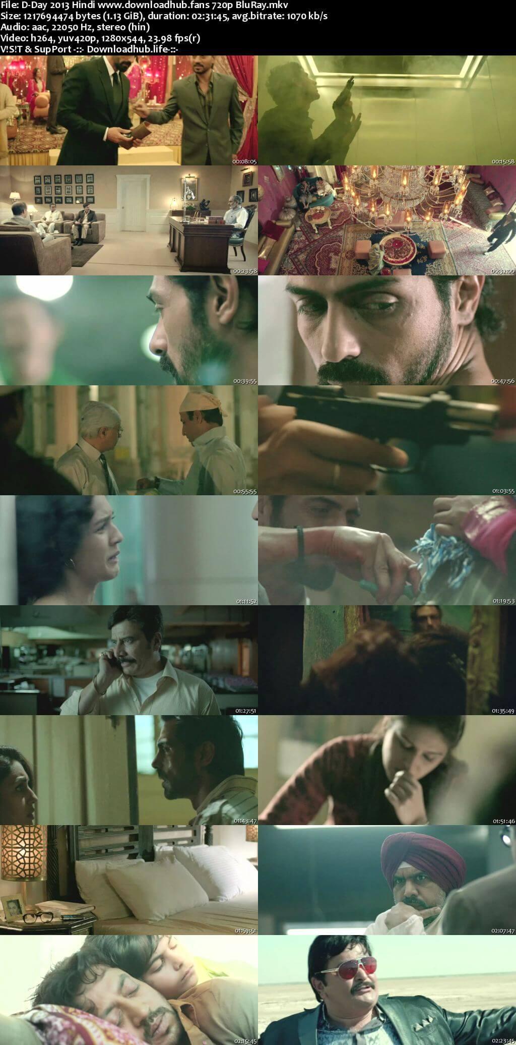 D-Day 2013 Hindi 720p BluRay x264
