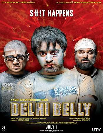 Delhi Belly 2011 Full Hindi Movie 480p HDRip Download