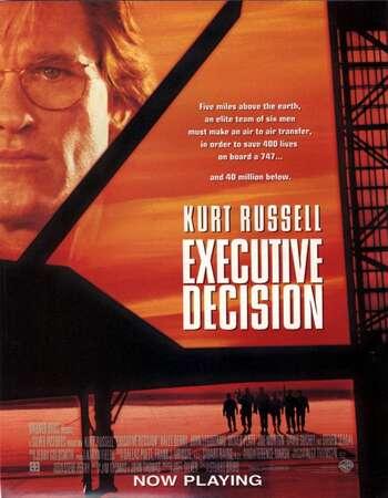Executive Decision 1996 Hindi Dual Audio BRRip Full Movie 480p Download