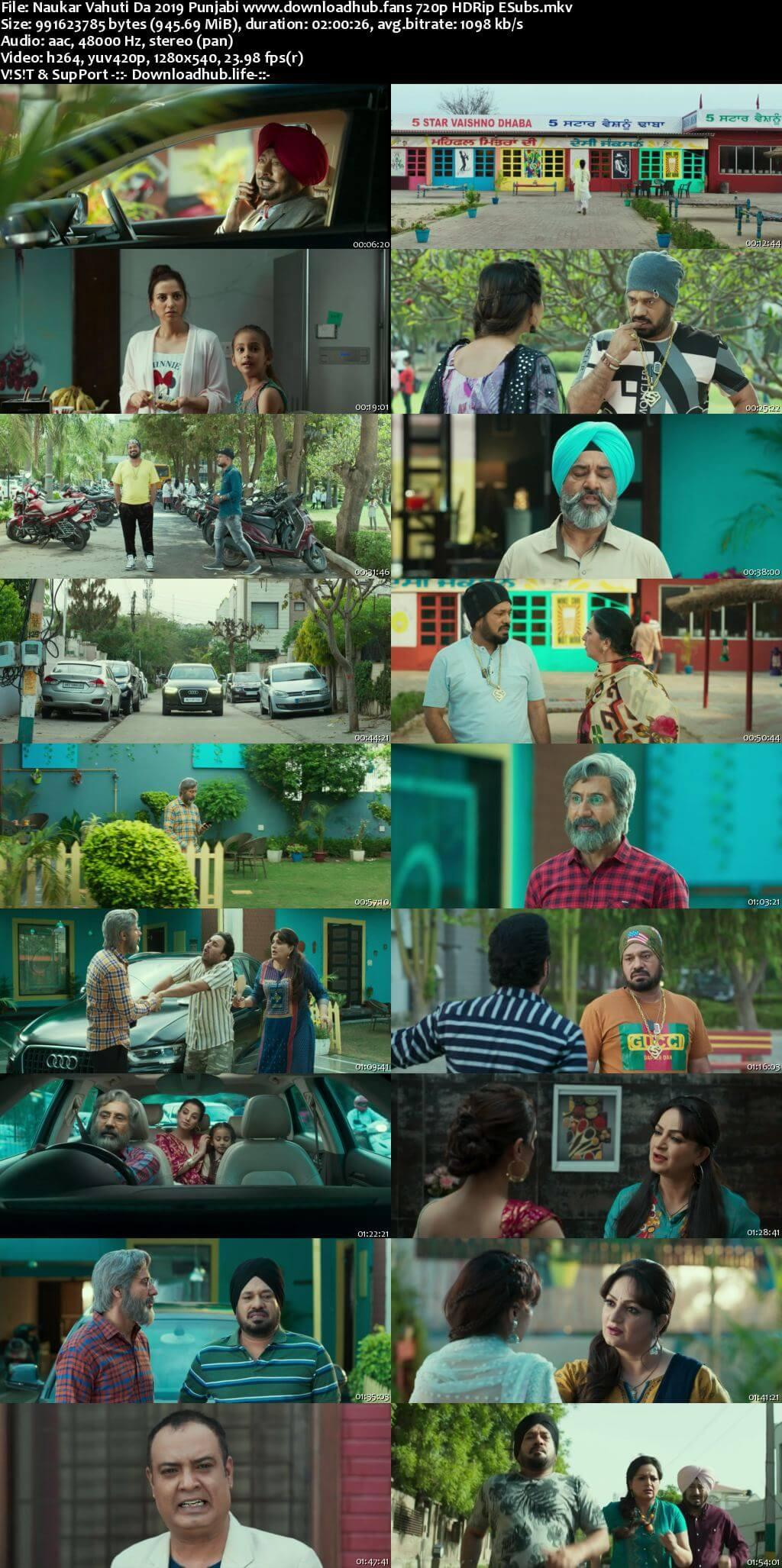Naukar Vahuti Da 2019 Punjabi 720p HDRip ESubs
