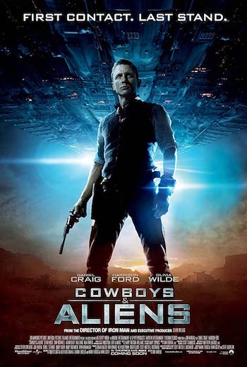 Cowboys And Aliens 2011 Dual Audio Hindi English BRRip 720p 480p Movie Download