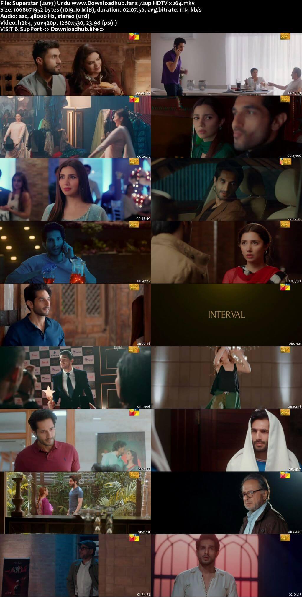 Superstar 2019 Urdu 720p HDTV x264