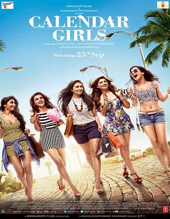 Calendar Girls 2015 Hindi 350MB HDRip 480p ESubs