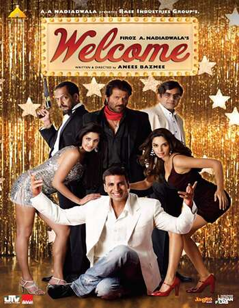Welcome 2007 Hindi 800MB HDRip 720p ESubs HEVC