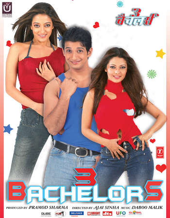 3 Bachelors 2012 Full Movie Hindi 350MB HDRip 480p x264