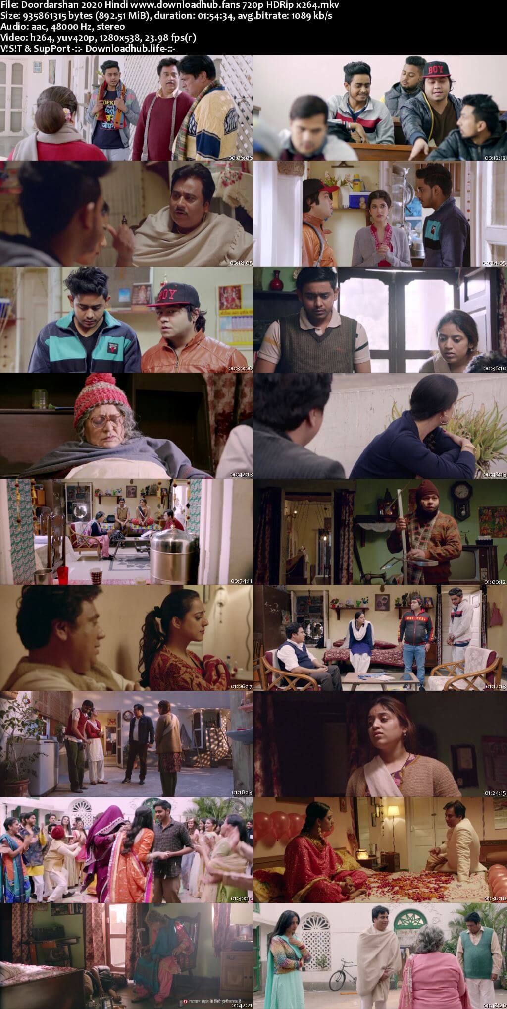 Doordarshan 2020 Hindi 720p HDRip x264