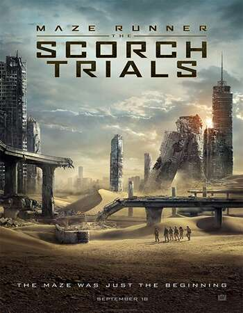 Maze Runner The Scorch Trials 2015 Hindi Dual Audio BRRip Full Movie 480p Download