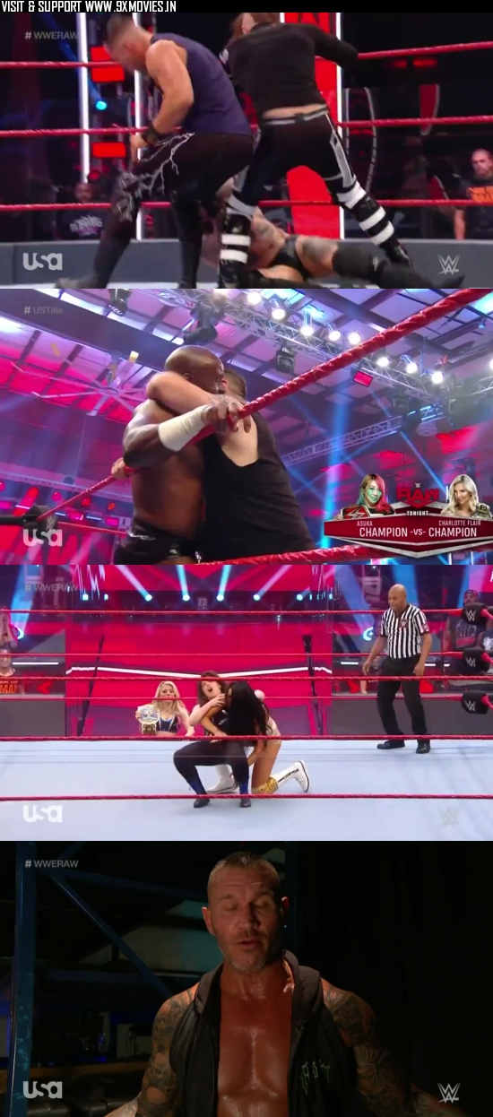 WWE Monday Night Raw 01 June 2020 HDTV 720p 480p 500MB