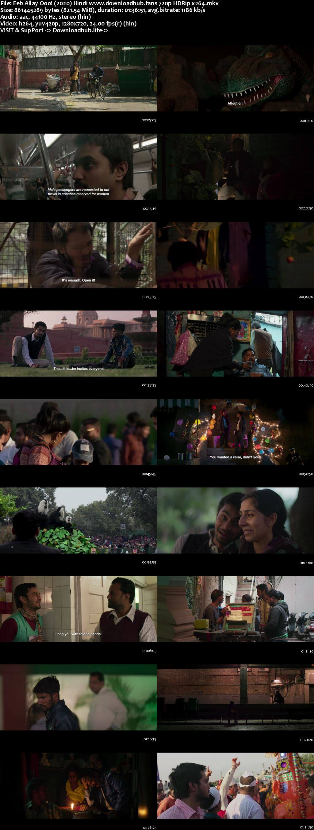 Eeb Allay Ooo 2019 Hindi 720p HDRip x264