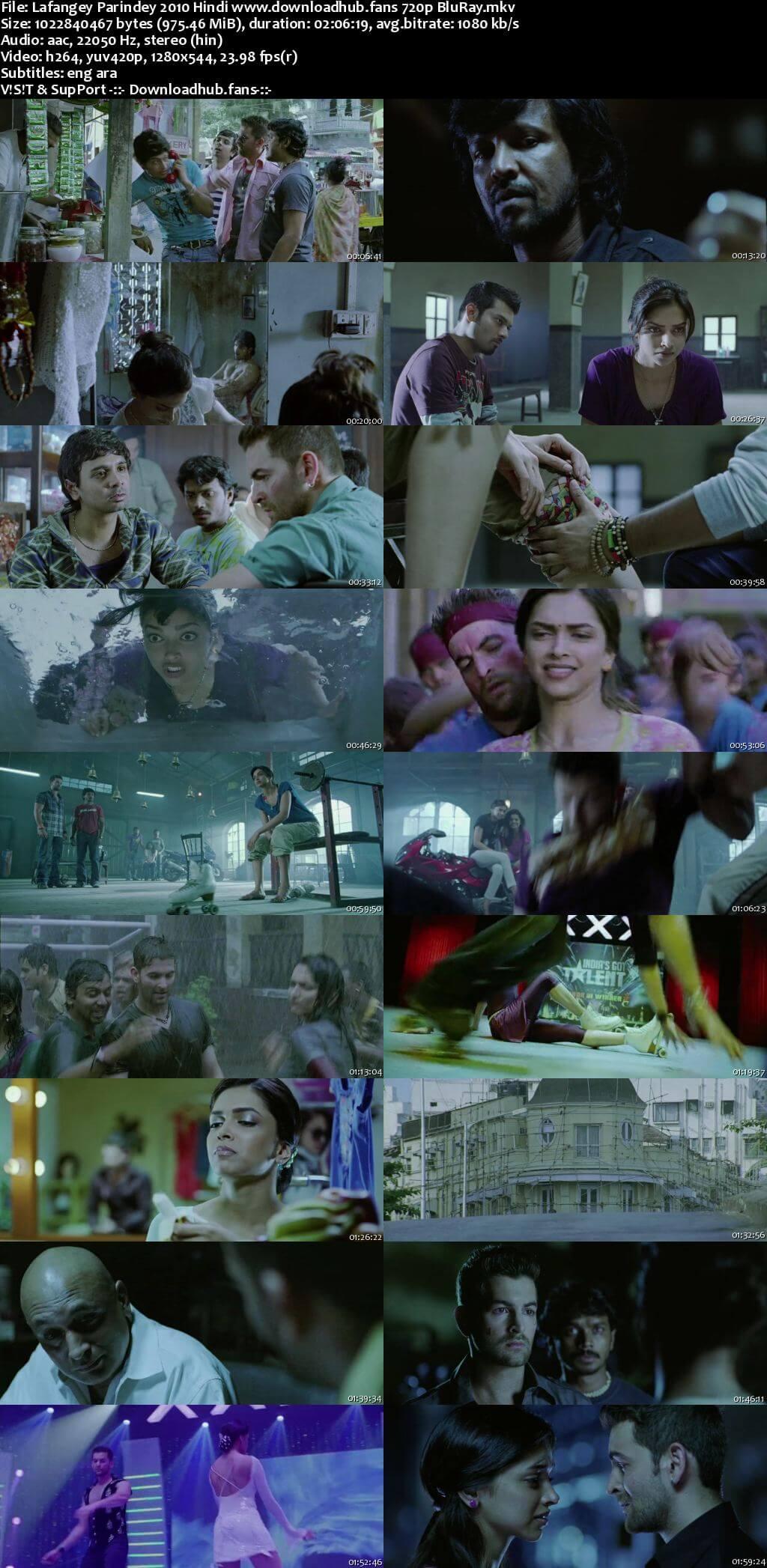 Lafangey Parindey 2010 Hindi 720p BluRay ESubs
