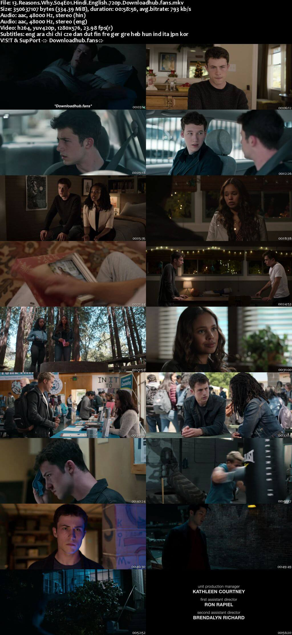 13 Reasons Why S04 Complete Hindi Dual Audio 720p Web-DL MSubs