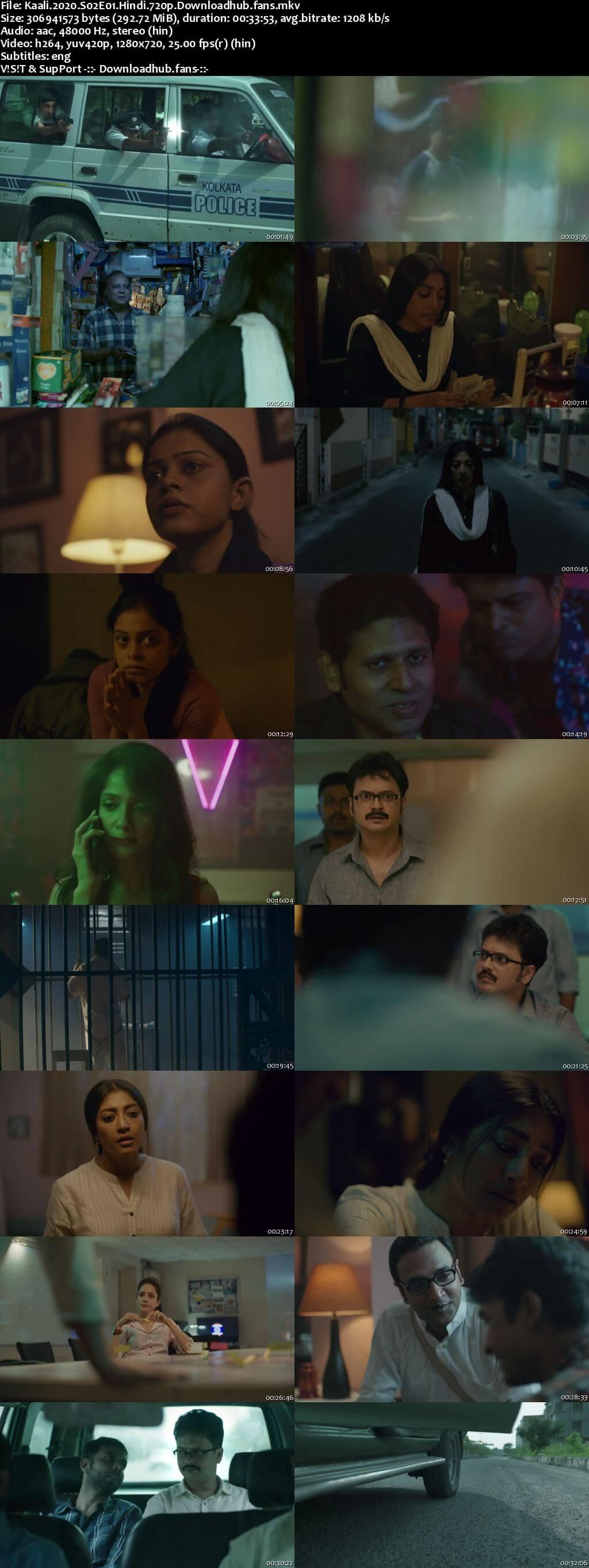 Kaali 2020 Hindi Season 02 Complete 720p HDRip ESubs