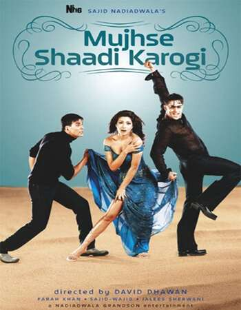Mujhse Shaadi Karogi 2004 Full Hindi Movie 720p HEVC BRRip Free Download