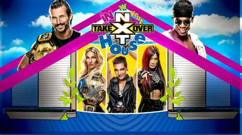 WWE NXT TakeOver In Your House 7th June 2020 720p 600MB PPV WEBRip 480p