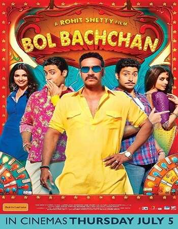 Bol Bachchan 2012 Full Hindi Movie 480p BRRip Free Download