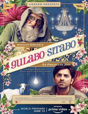Gulabo Sitabo 2020 Full Hindi Movie 720p HEVC HDRip Download