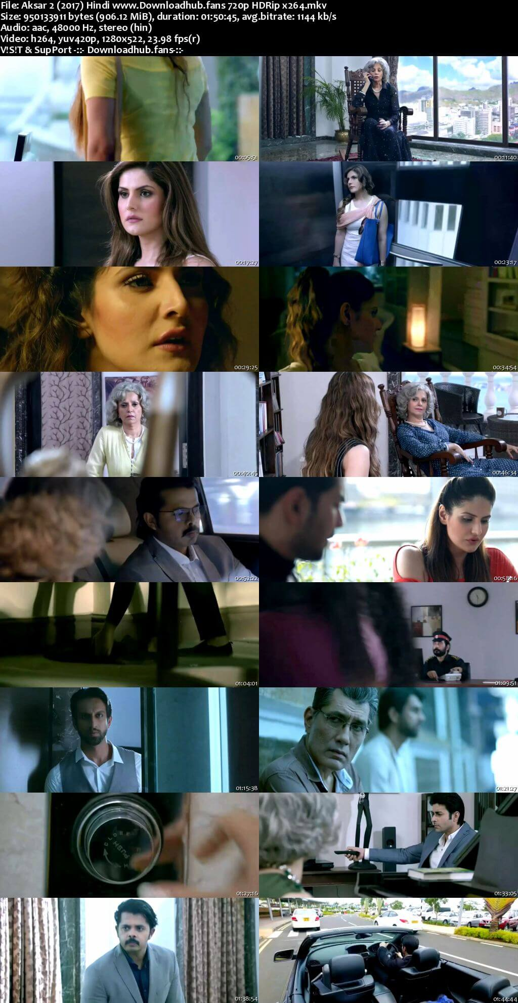 Aksar 2 2017 Hindi 720p HDRip x264
