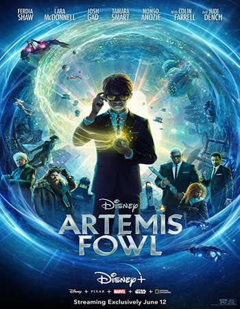 Artemis Fowl 2020 English 720p Web-DL 800MB ESubs