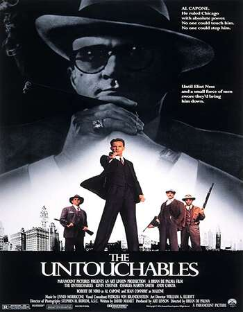 The Untouchables 1987 Hindi Dual Audio 720p BluRay ESubs