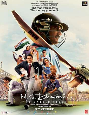 M S Dhoni The Untold Story 2016 Hindi 720p BluRay ESubs