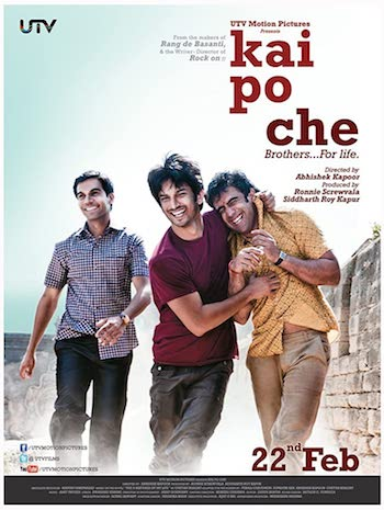 Kai Po Che 2013 Hindi 720p BRRip 950mb