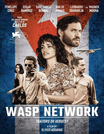 Wasp Network 2019 English 720p Web-DL 1.1GB ESubs