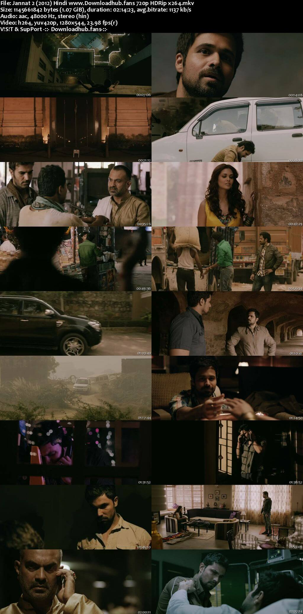 Jannat 2 2012 Hindi 720p HDRip x264