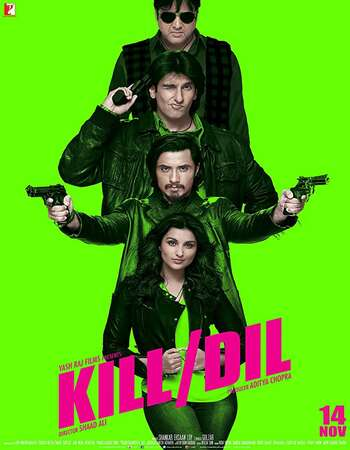 Kill Dil 2014 Full Hindi Movie BRRip Free Download