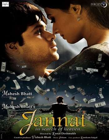 Jannat 2008 Full Hindi Movie 720p HDRip Download