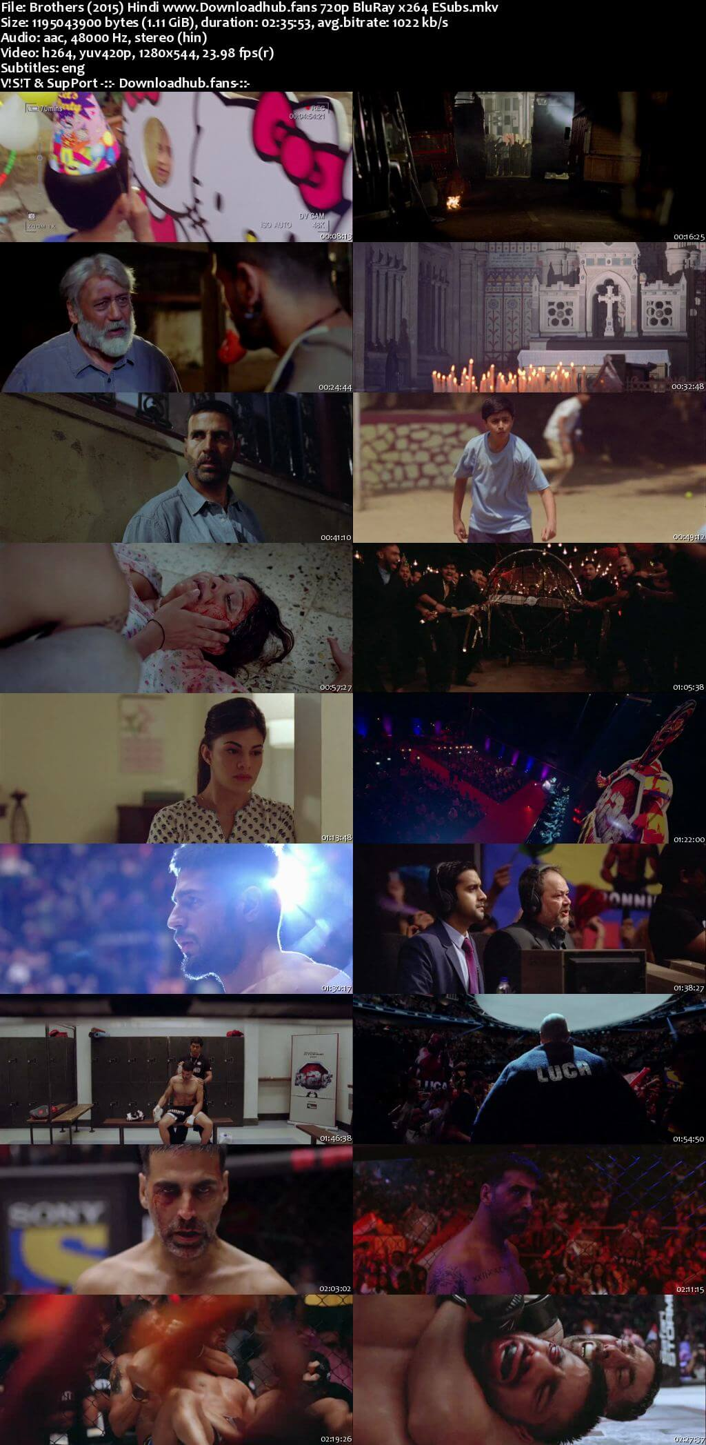 Brothers 2015 Hindi 720p BluRay ESubs