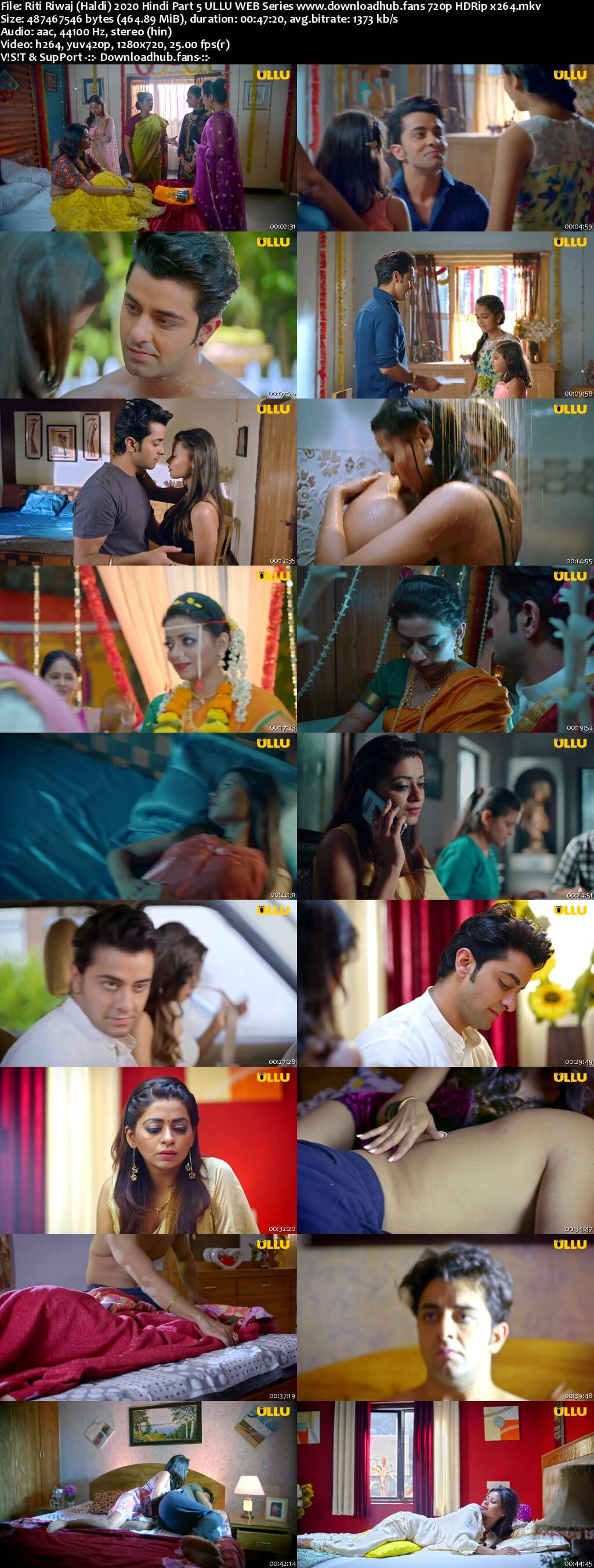 Riti Riwaj (Haldi) 2020 Hindi Part 5 ULLU WEB Series 720p HDRip x264