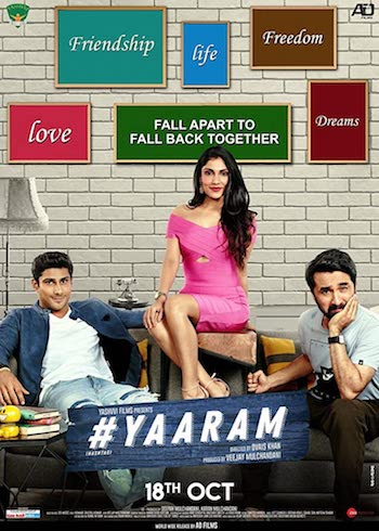 Yaaram 2019 Hindi 480p HDRip 300mb