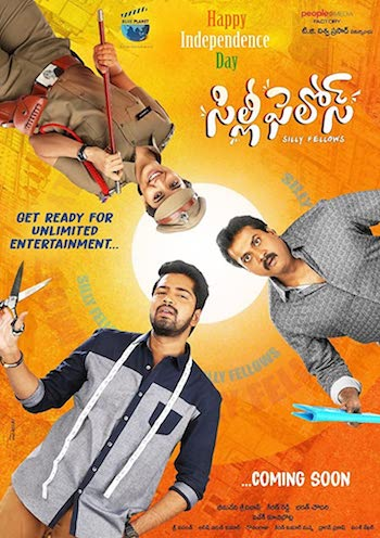 Silly Fellows 2018 UNCUT Dual Audio Hindi 480p HDRip 350MB