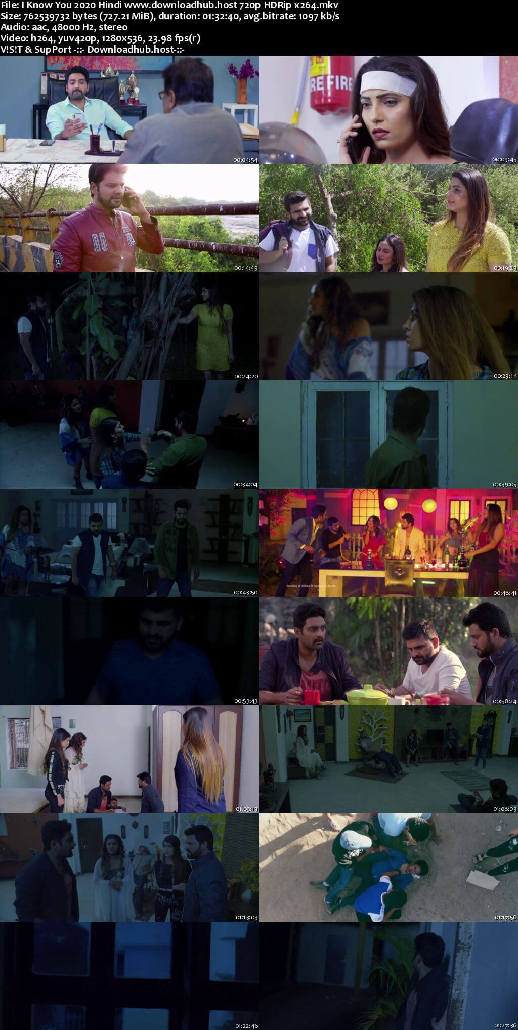I Know You 2020 Hindi 720p HDRip x264