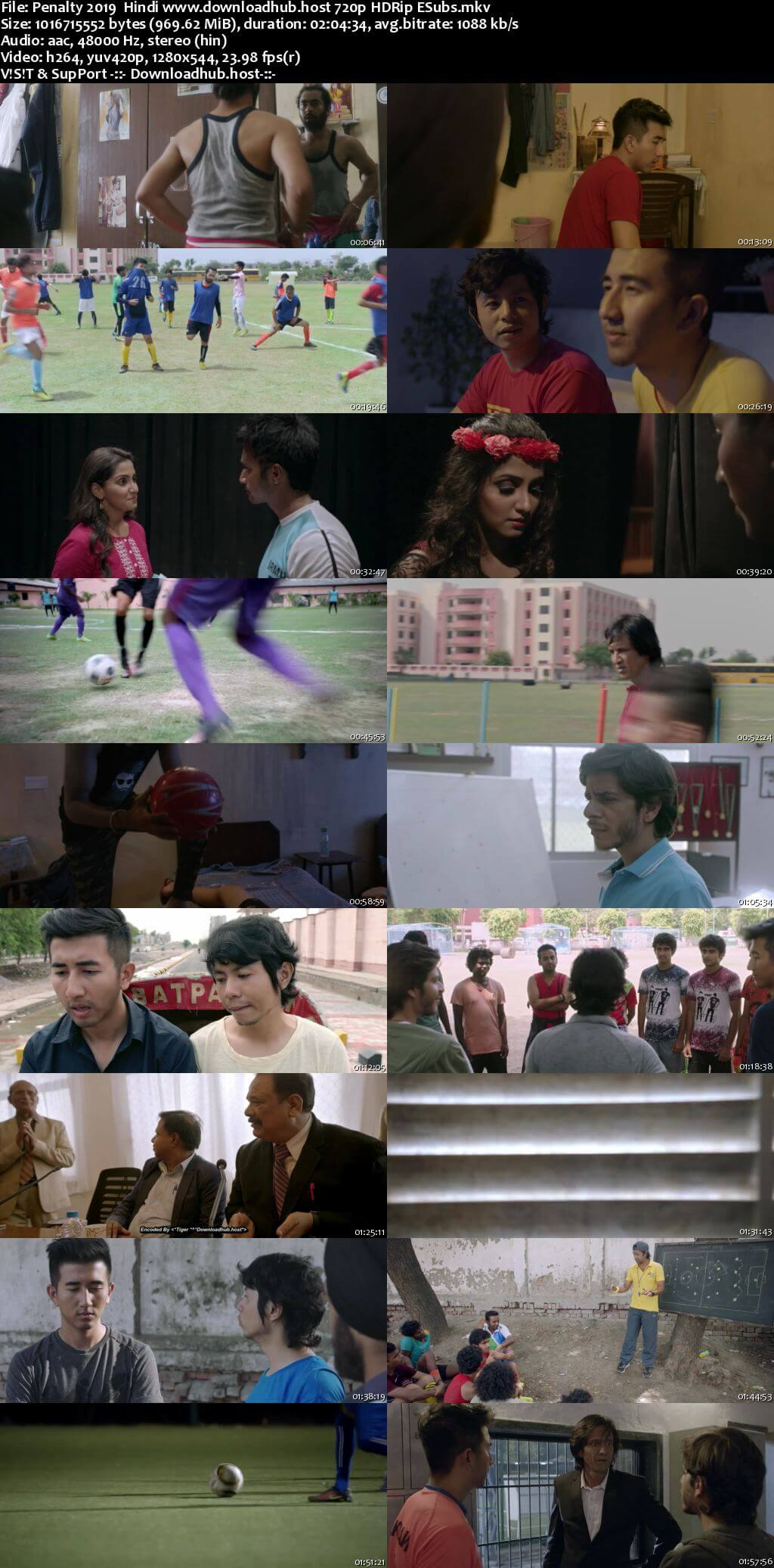 Penalty 2019 Hindi 720p HDRip ESubs