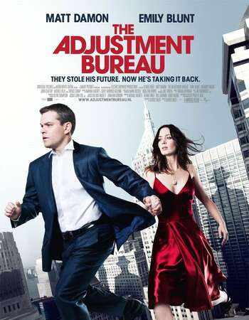 The Adjustment Bureau 2011 Hindi Dual Audio 300MB BluRay 480p