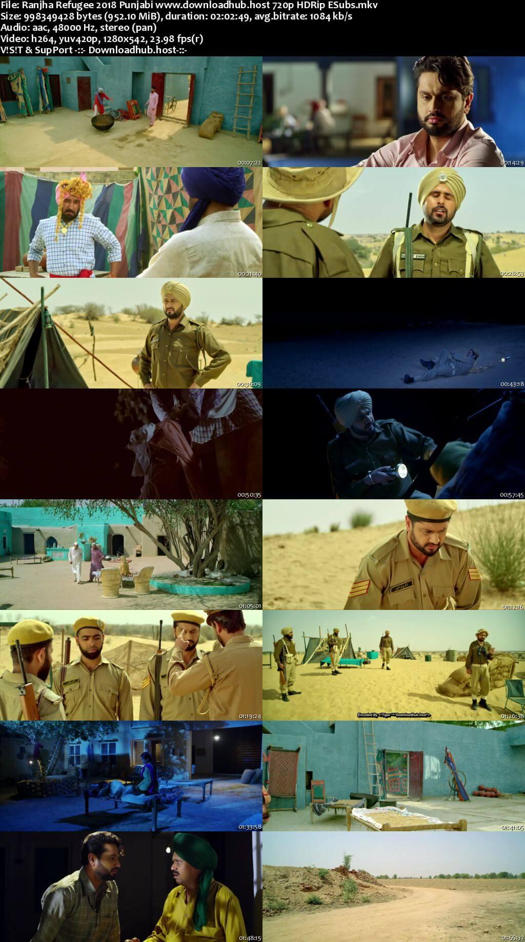 Ranjha Refugee 2018 Punjabi 720p HDRip ESubs
