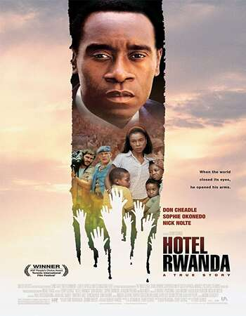 Hotel Rwanda 2004 Hindi Dual Audio 350MB BluRay 480p ESubs