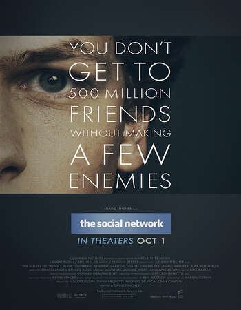The Social Network 2010 Hindi Dual Audio 400MB BluRay 480p ESubs