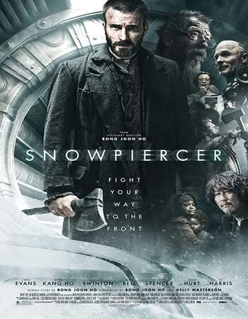Snowpiercer 2013 Hindi Dual Audio 400MB BluRay 480p ESubs
