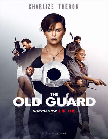 The Old Guard 2020 Hindi Dual Audio 600MB Web-DL 720p ESubs HEVC