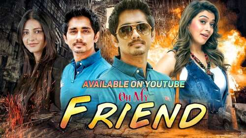 Oh My Friend 2011 Hindi Dubbed 280MB HDRip 480p