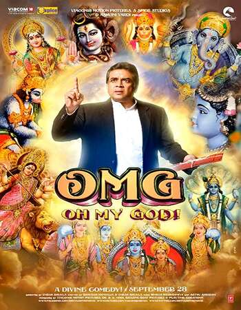 OMG Oh My God 2012 Hindi 600MB BluRay 720p ESubs HEVC