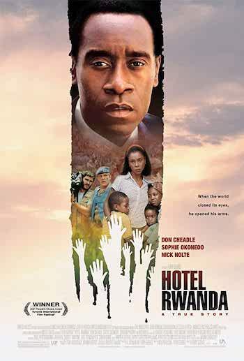 Hotel Rwanda 2004 Dual Audio Hindi English BRRip 720p 480p Movie Download