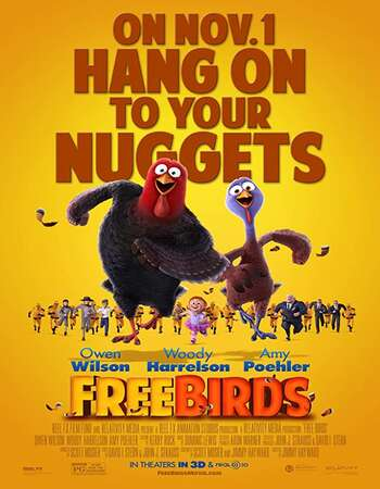 Free Birds 2013 Hindi Dual Audio 280MB BluRay 480p ESubs
