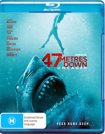 47 Meters Down Uncaged 2019 Dual Audio Hindi 480p BluRay 270mb